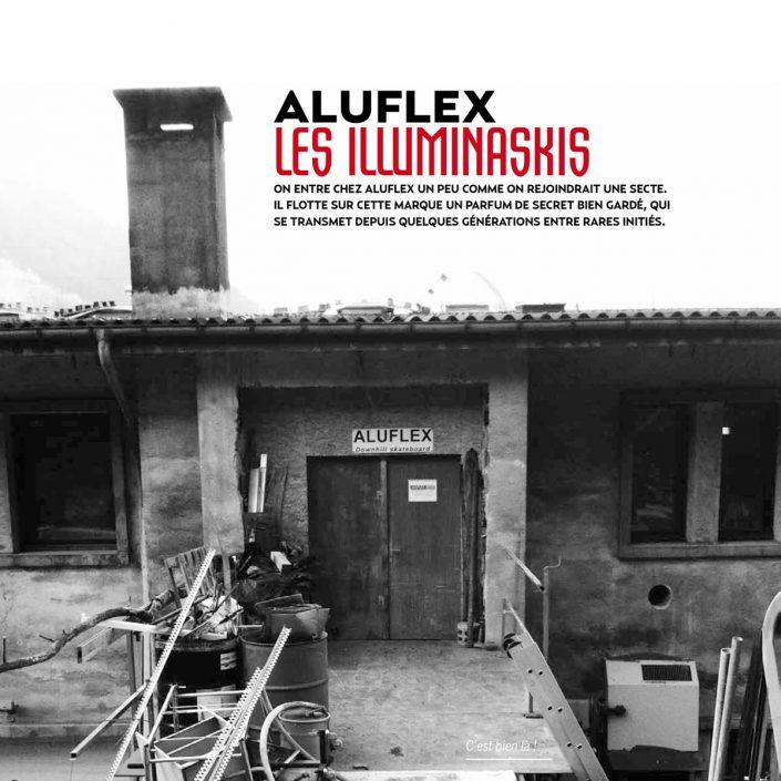 Aluflex Les Illuminaskis Ski Time