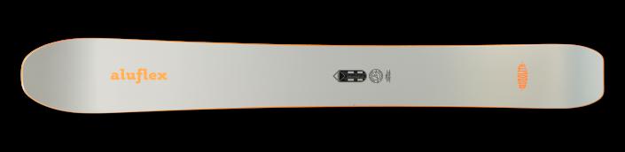 Monoski Aluflex Monolith orange