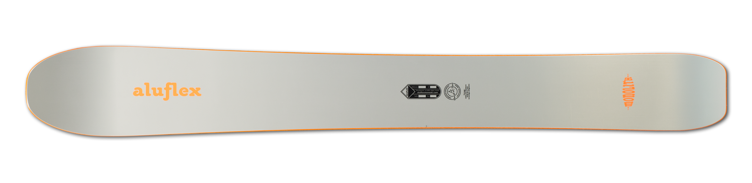 Monoski Aluflex Monolith orange