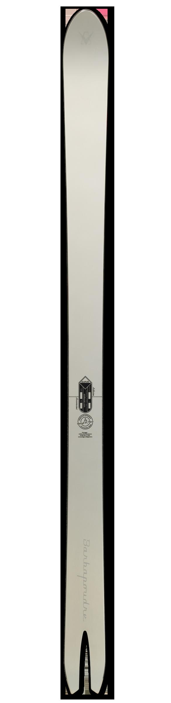 Ski Aluflex Barbapoudre 204
