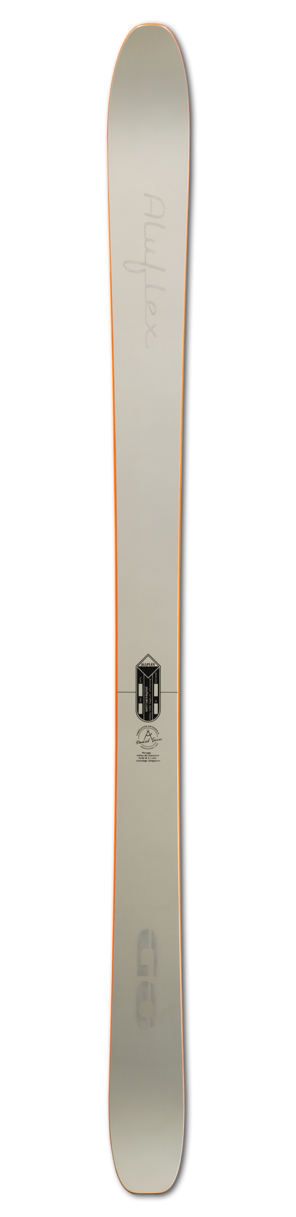Ski Aluflex GO orange