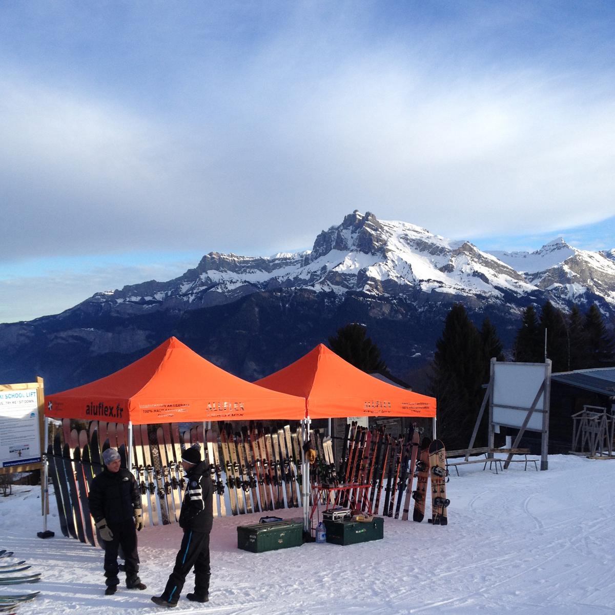 Ski Test Aluflex Tentes
