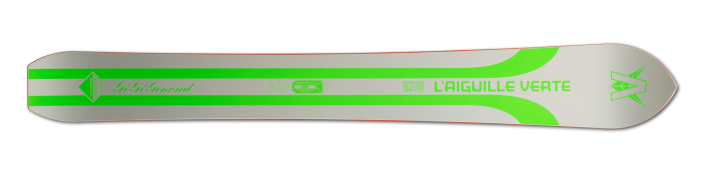 Monoski Aluflex Aiguille Verte