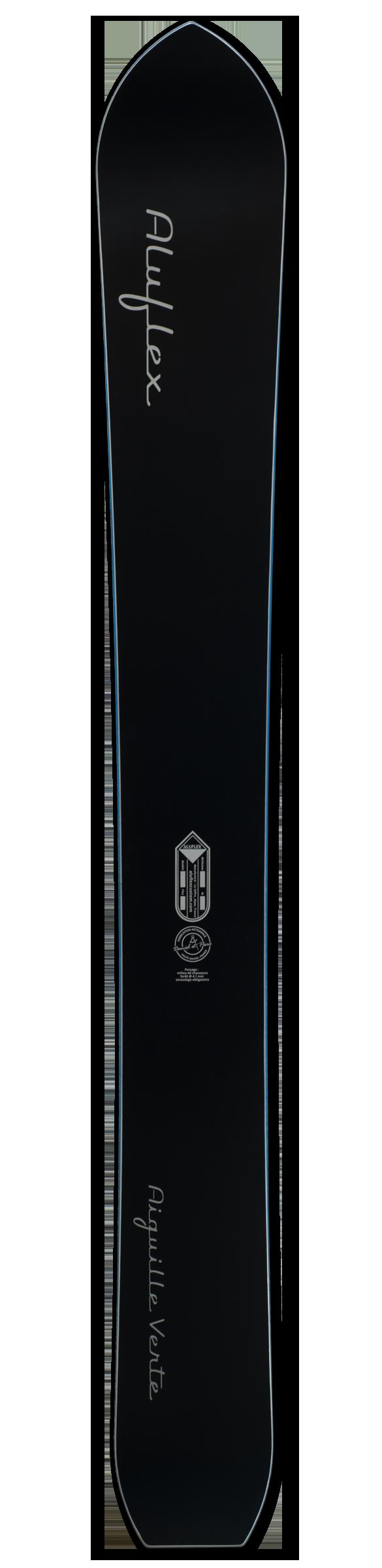 Monoski Aluflex Aiguille Verte noir bleu